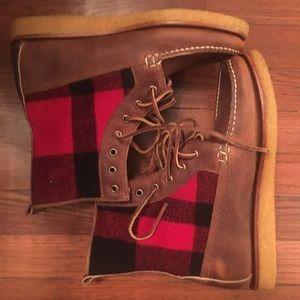New POLO Ralph Lauren Vandan Grain leather boots